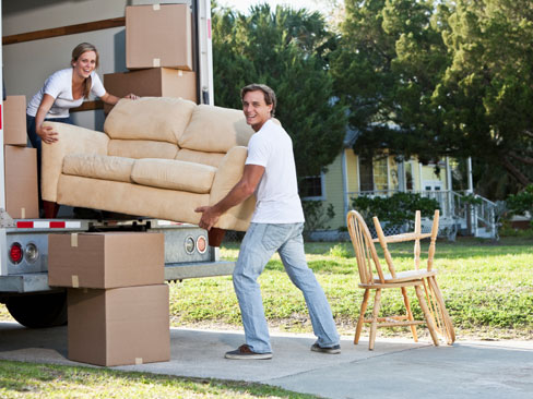 costs to move furniture appeared too high for this couple